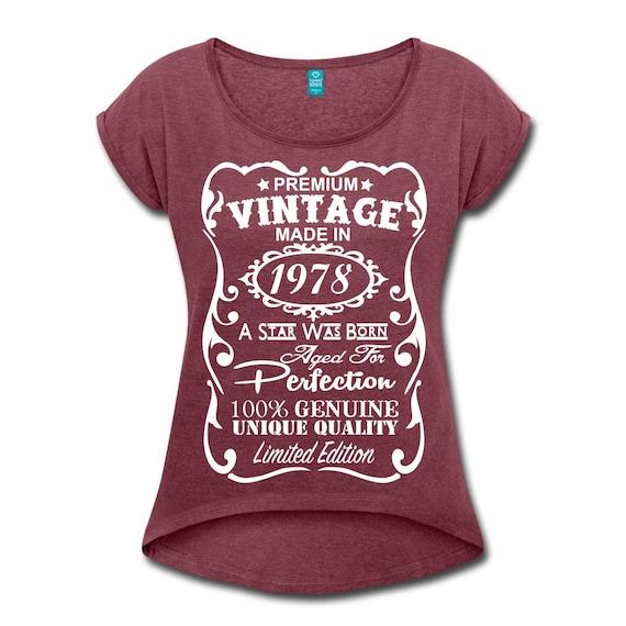 VELVETY 40th Birthday Gift For Woman Shirt
