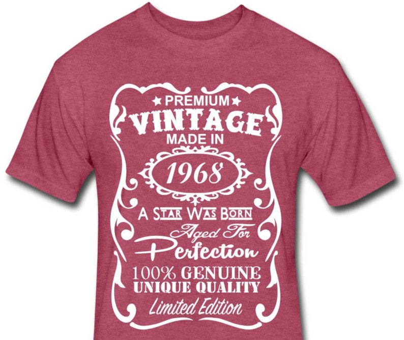 VELVETY 50th Birthday Shirt Funny Gift Ideas