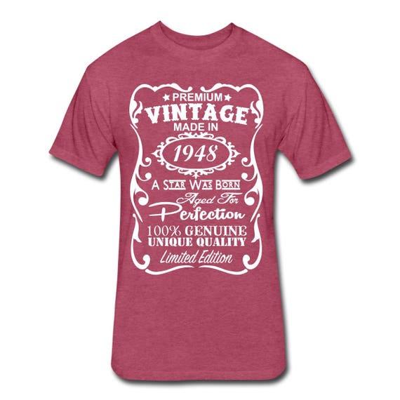 VELVETY 70th Birthday Shirt Funny Gift Ideas