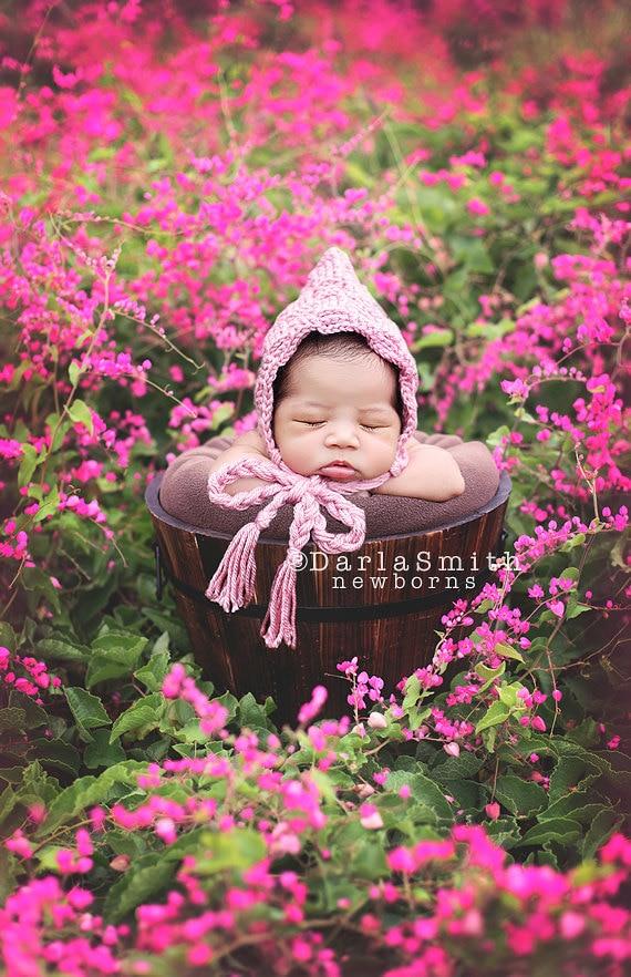 Digital backdrop pink flower field bucket prop scene newborn etsy image 0 mightylinksfo