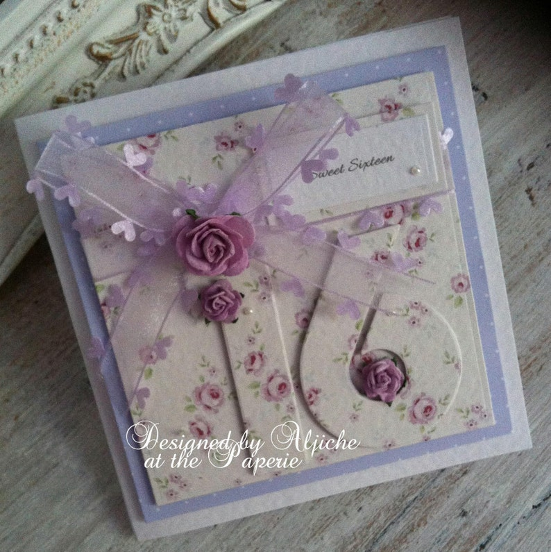 16th Birthday Card Sweet Sixteen Daughter