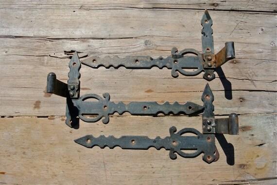 image 0 - Vintage Metal Hinges Shutter Hinges Door Hinges Cabinet Etsy