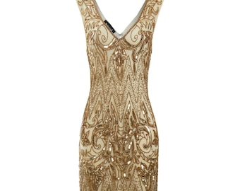 1920s flapper dress etsy