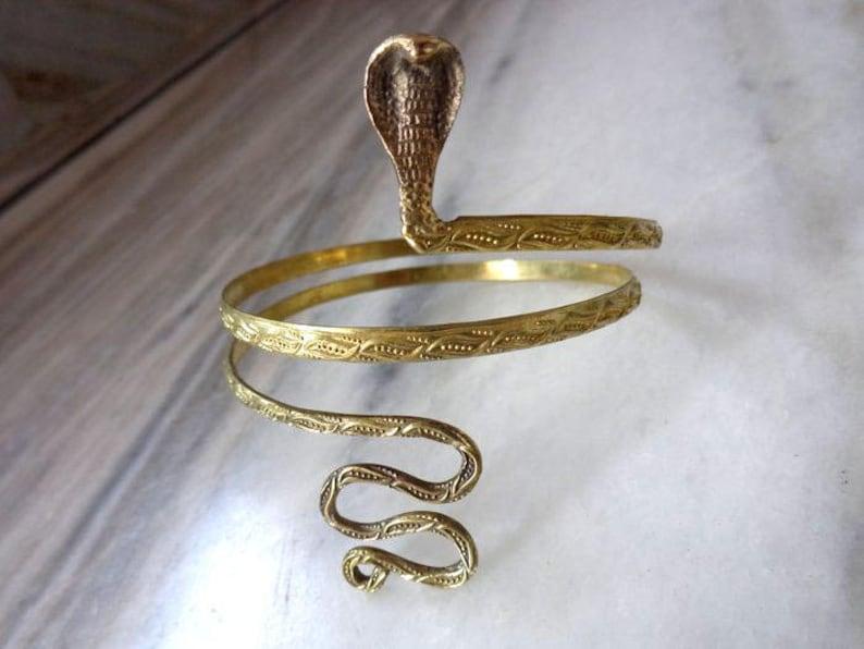 Armlet Arm cuff Upper Arm cuff Snake Armlet Snake Arm image 0