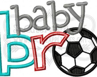 Baby bro soccer Embroidery design 4x4 5x7 6x10, New baby Embroidery sayings, socuteappliques, soccer embroidery, soccer applique