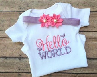 Baby Girl Embroidery Etsy