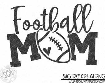 Football Mom Svg Etsy