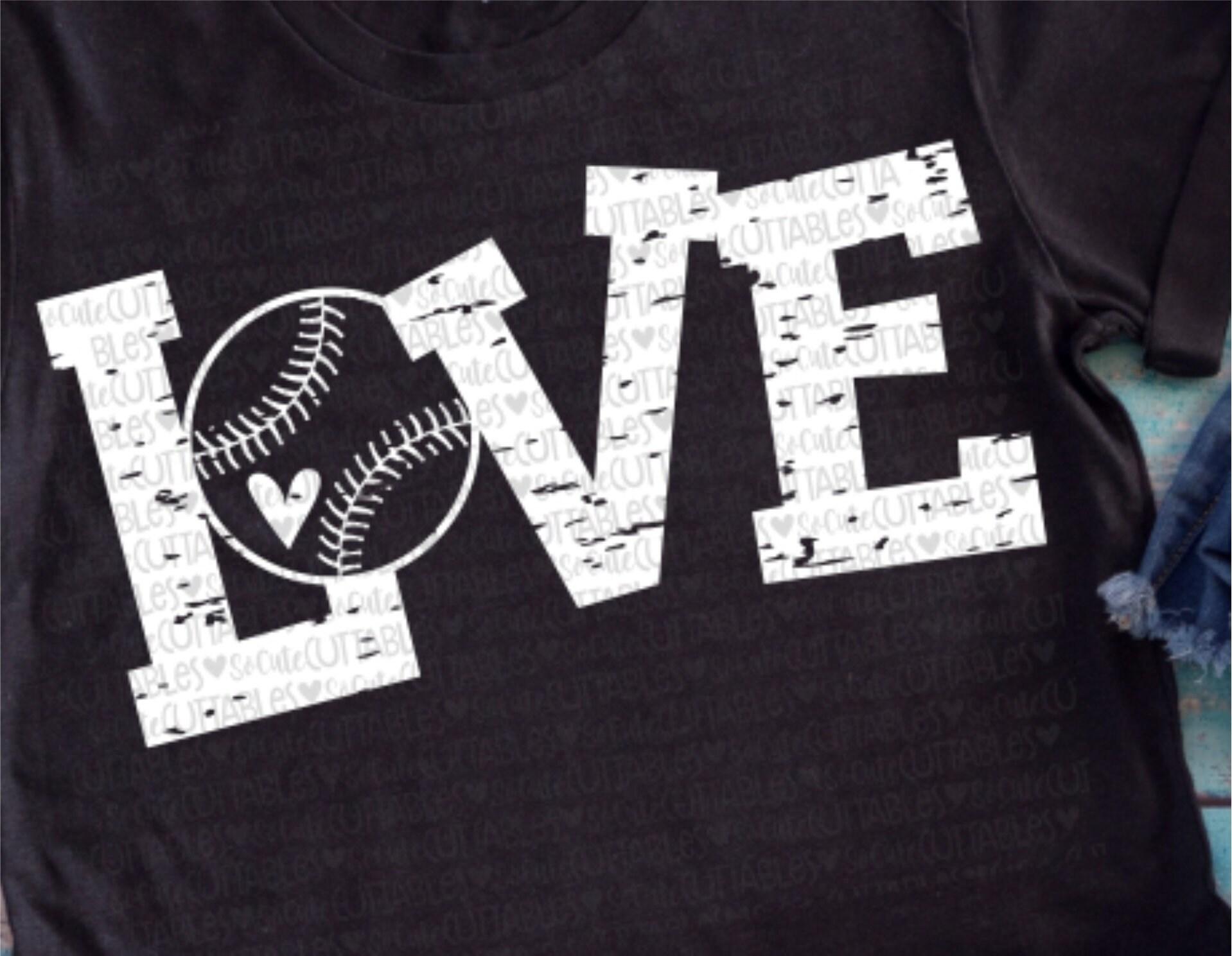 Baseball svg baseball mom Love baseball svg baseball | Etsy
