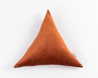Triangle Pillow Etsy
