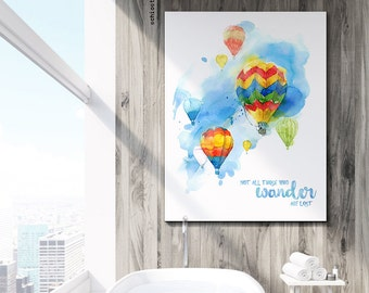 Air Balloon Quotes Etsy