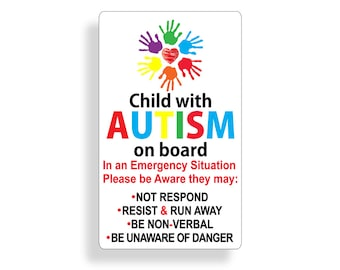Twins On Board Baby Safety Sign Children Magnet Removable For Car Truck SUV