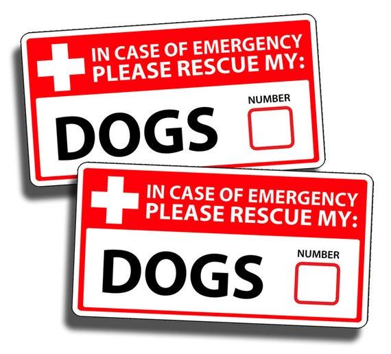 Protective Dog Sticker No Soliciting Window Door Vinyl Sign Decal K9 Pet Home
