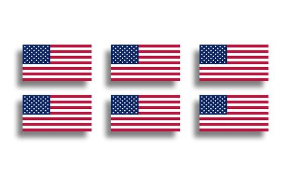 American Flag USA Hair Glove Cut 4 Inch Unisex Motorcycle Accessories Hair Glove