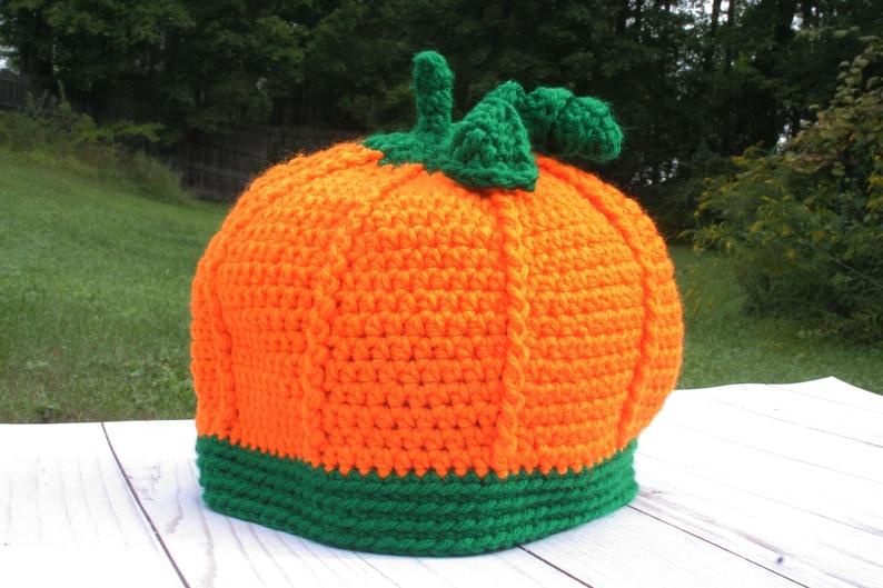 af2efae61b3 Pumpkin Harvest Hat Perfect for Fall Holidays like