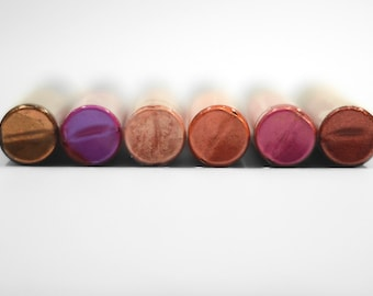 All Natural Vibrant Colored Lip Stain
