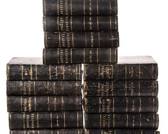 """1889 Bound Editions of """"The Century"""" and """"Harper's"""" Magazine"""