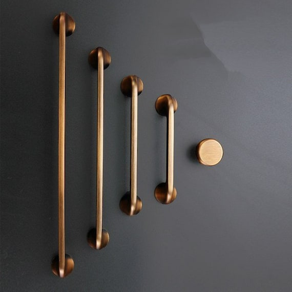 Large Dresser Pull Handles Drawer, Brass Cabinet Pulls And Knobs
