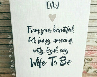 Happy wedding day card ** free p&p