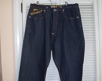 5e9d1ecb Vintage Akademiks Hip Hop Jeans/Baggy Jeans/Loose Jeans
