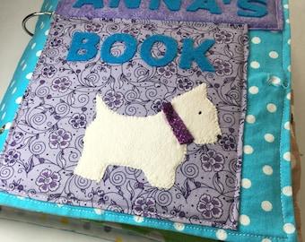 Quiet book pattern PDF & Tutorial | Quiet book kit | Quiet book tutorial | Quiet book pattern | Busy book pattern