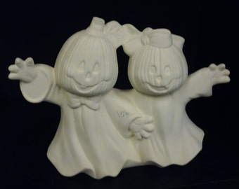 SALE  Was 13.50 Now 6.75 DIY Ghost Couple