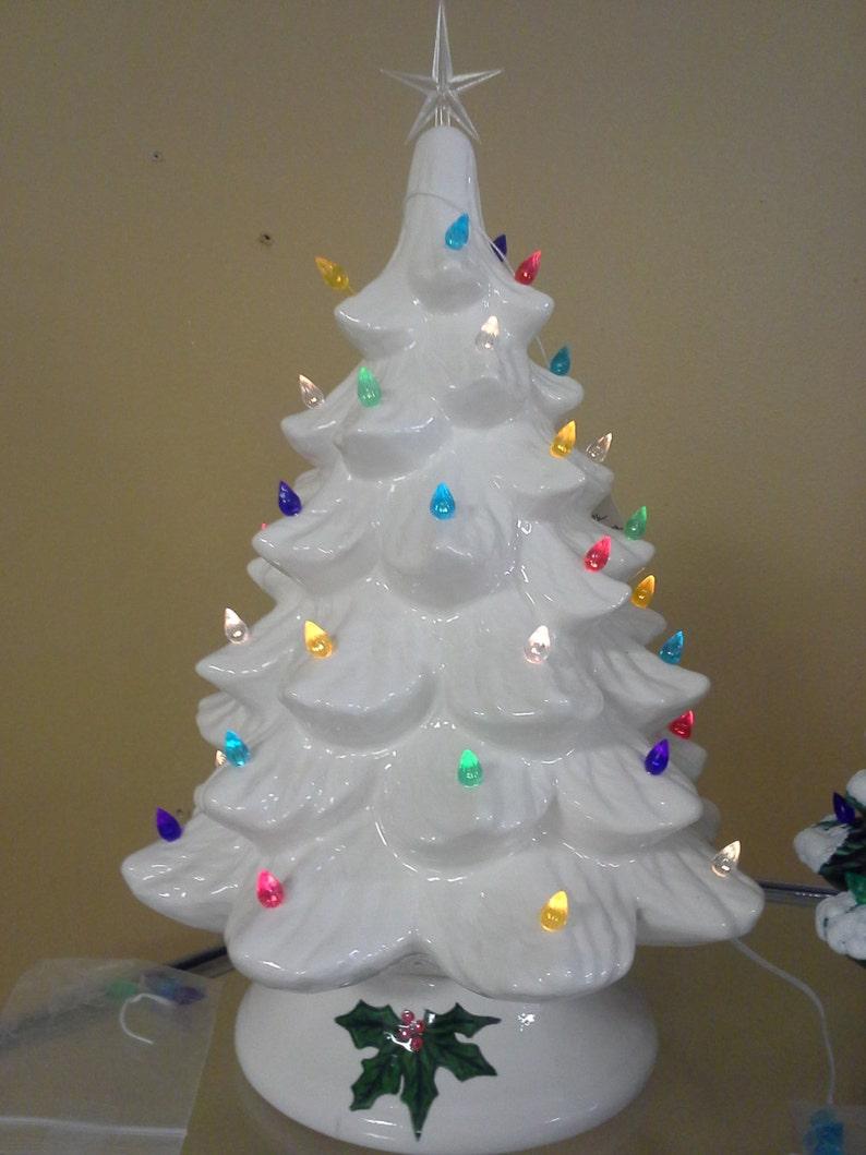 14 Ceramic Christmas Tree Finished Or Unfinished Etsy
