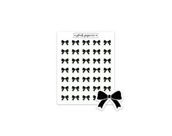 RIBBON / BOW | Planner stickers | Functional Stickers | NEUTRAL
