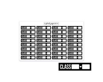 CLASS | From / To | Planner stickers | Functional Stickers | NEUTRAL