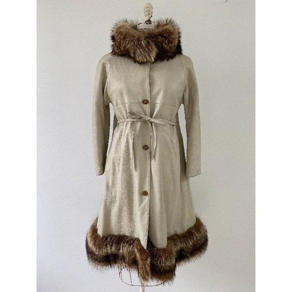 Vintage 1960s Coat / 60s Bonnie Cashin for Sills L