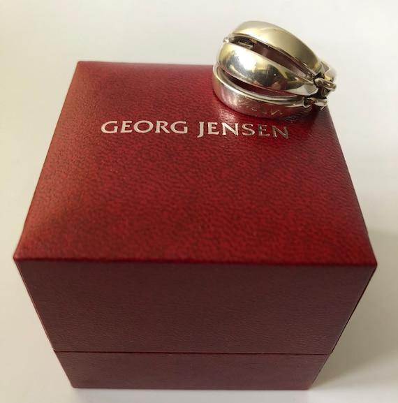 """Georg Jensen Denmark Sterling Silver Modernist """"Me"""