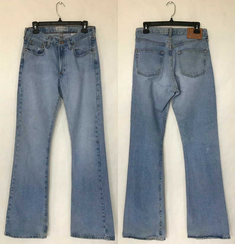6352e3cbca Vintage 90s Abercrombie & Fitch Faded Mid Rise Relaxed Fit   Etsy