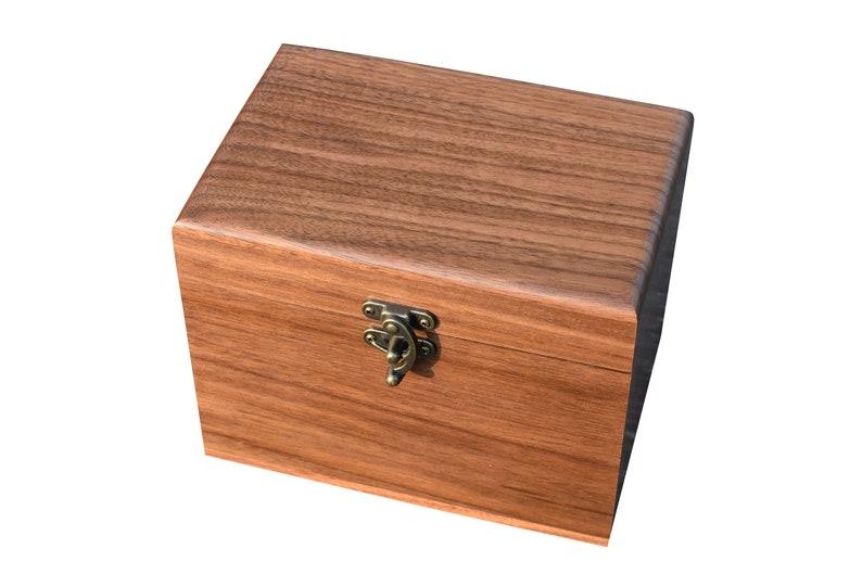 Personalized Recipe Box Wedding Gift Engraved Wood Recipe Card Holder Custom Recipe Card Box Bridal Shower Gift Recipe Storage Box