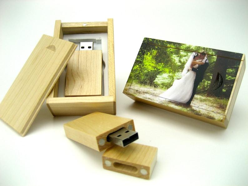 Sale Free Ship Logo USB Drive Photo Flash Drive Wedding Usb Drive- 4Gb Wedding Photo USB stick Photo USB Drive
