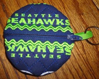 Seattle Seahawk Key Chain