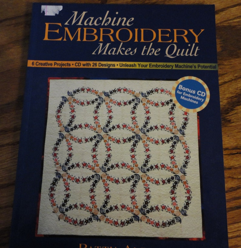 Machine Embroidery makes the Quilt by Patty Albin