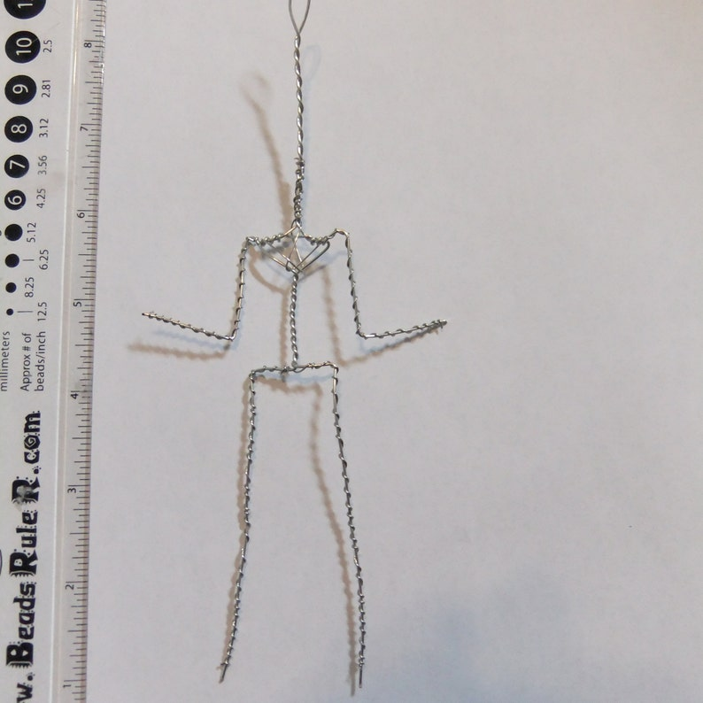 wire only armature 5 pack OOAK under wire armature for OOAK doll making