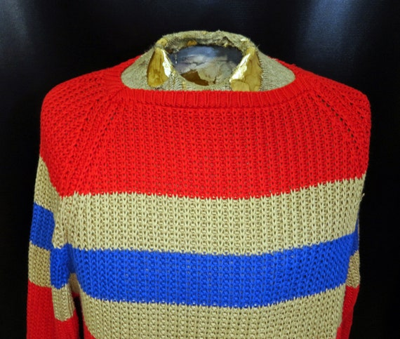 Vintage Unisex Catalina Bay Club Knit Sweater 1980