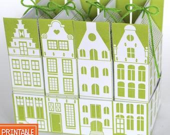 Printable Gift Card Box Flower Mouse Diy Gift Card Holder Etsy