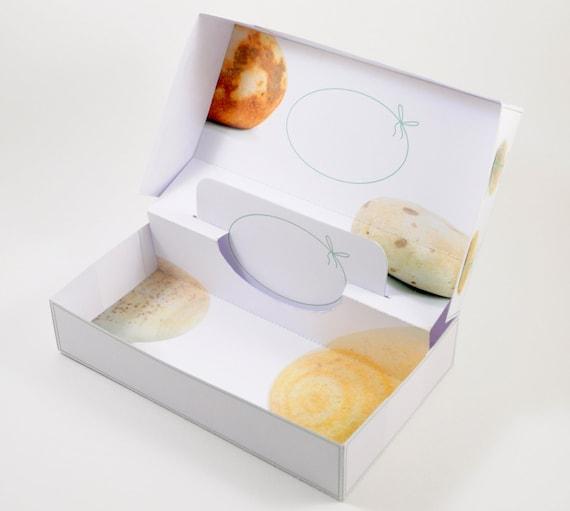 Printable Birthday Gift Box Template Diy Gift Card Holder Etsy