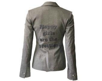 Happy Girls Gray Blazer-Hipchik