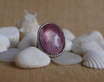 pink petal ring