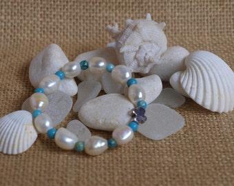 turquoise children's rosary