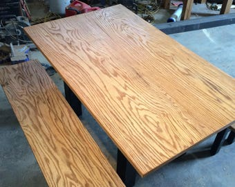 Hackberry dining room table