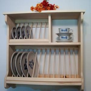 Decorative Plate Rack Wall Mount from i.etsystatic.com