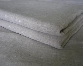 Linen Flat Sheet Oatmeal Beige Natural 100% Pure Flax European Bedding Twin XL Full Double Queen King Kalifornia