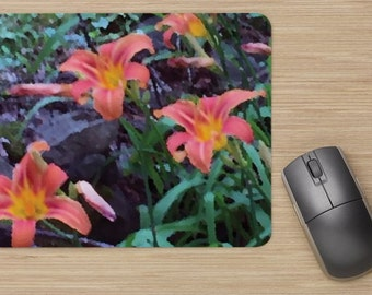 Tiger Lily mouse pad
