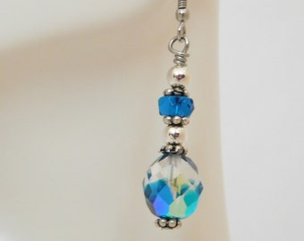 Blue (without you) Earrings