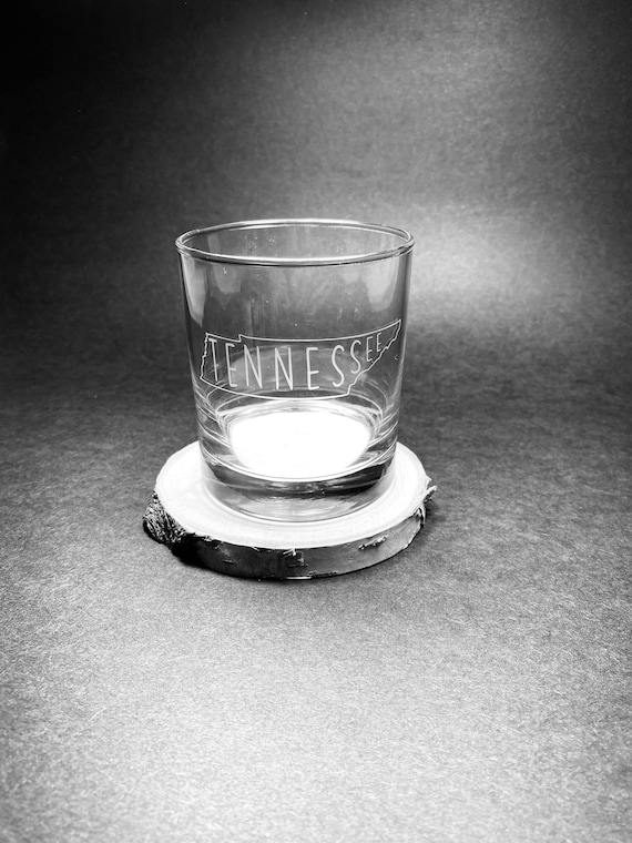 Tennessee State Whiskey Glass