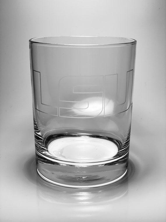 Louisiana State University - LSU Tigers Whiskey Glass