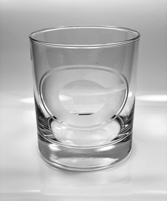 Georgia Bulldogs Whiskey Glass